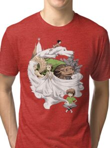 The Neverending Story - Montage  Tri-blend T-Shirt