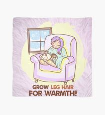 Grow Leg Hair For Warmth Scarf