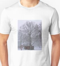 Trees and Post Box in the Snow T-Shirt