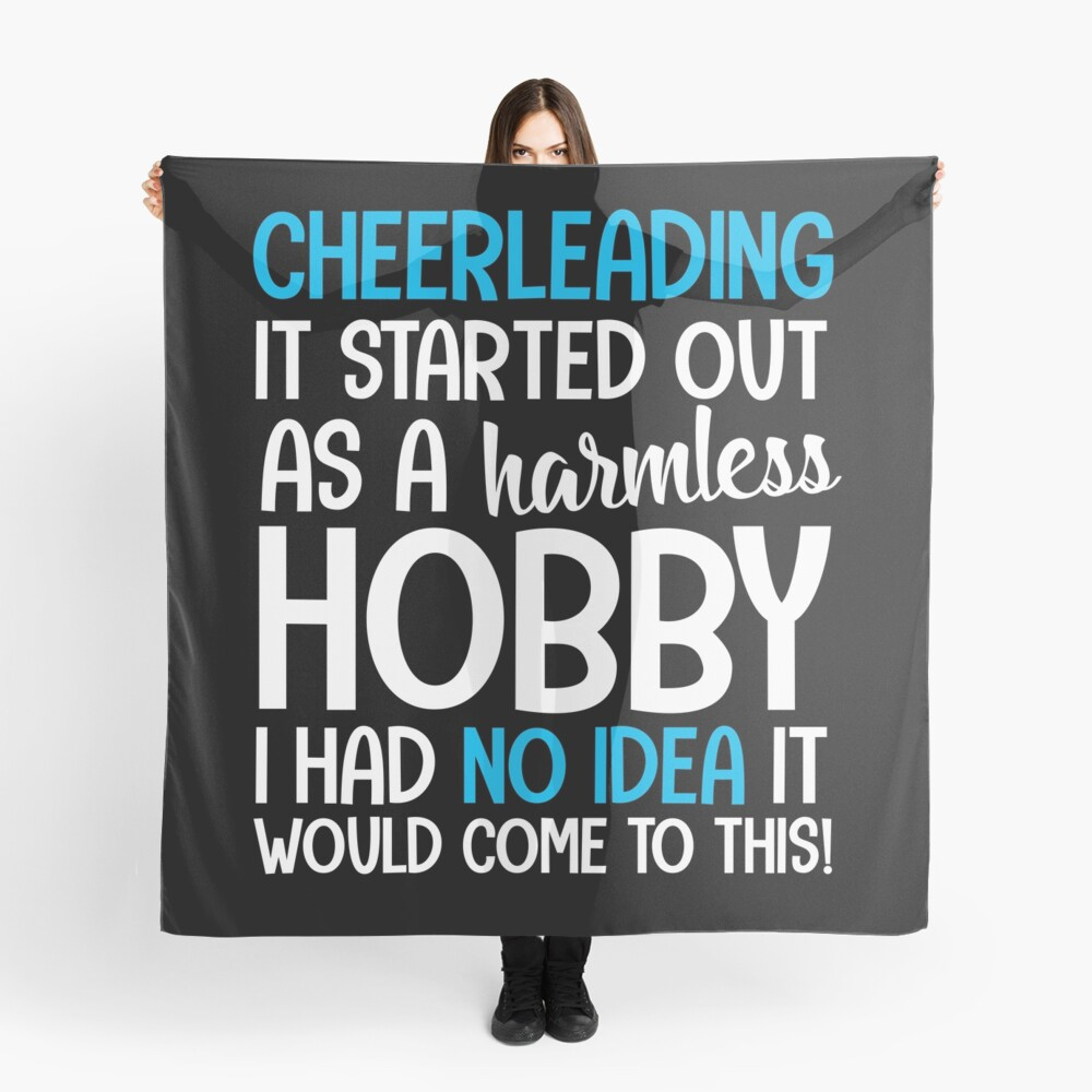 Cheerleading hobby Scarf