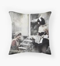 Roncalli Circus Performers in Bremen Throw Pillow