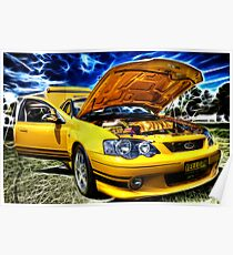 Ford XR8 Ute Poster