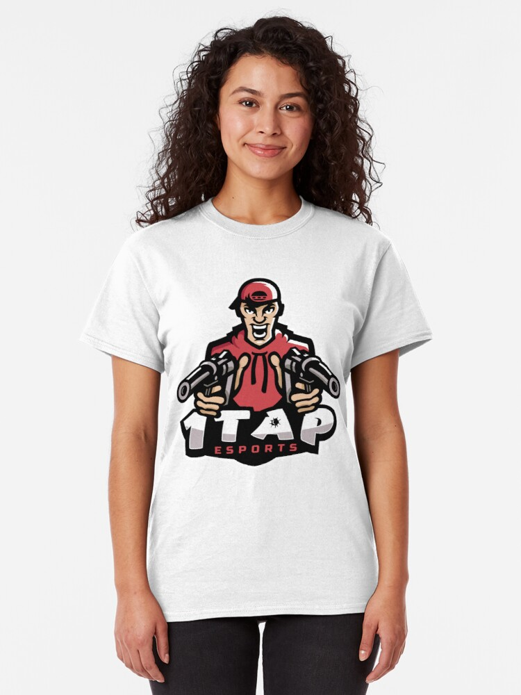 Alternate view of 1Tap Esports Mascot Classic T-Shirt