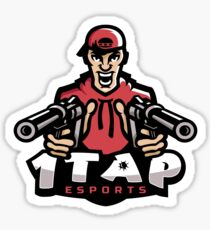 1Tap Esports Mascot Sticker