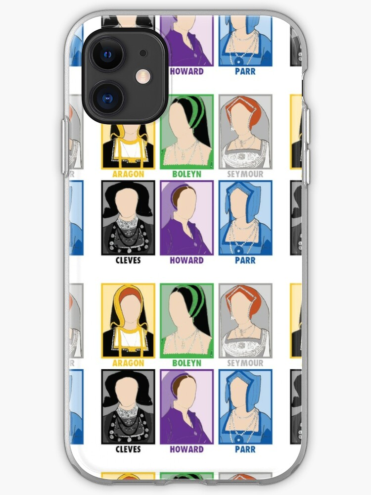 King Henry VIII iphone 11 case