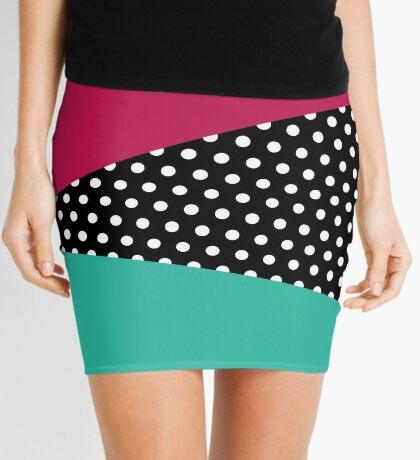 Geometría retro Minifalda