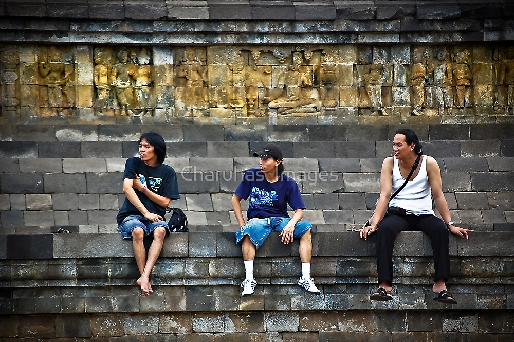 3 Men Are Admiring........Whaaaaaat? by Charuhas  Images