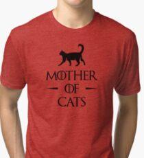 Camiseta de tejido mixto Madre de Gatos