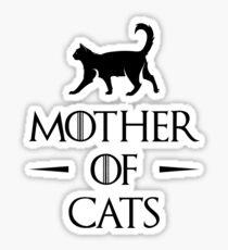 Mère des chats Sticker