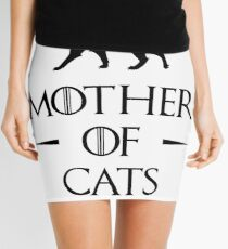 Mother of Cats Mini Skirt