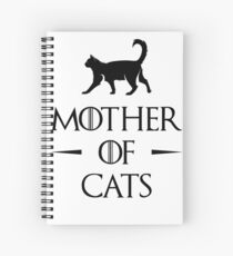 Mother of Cats Spiral Notebook