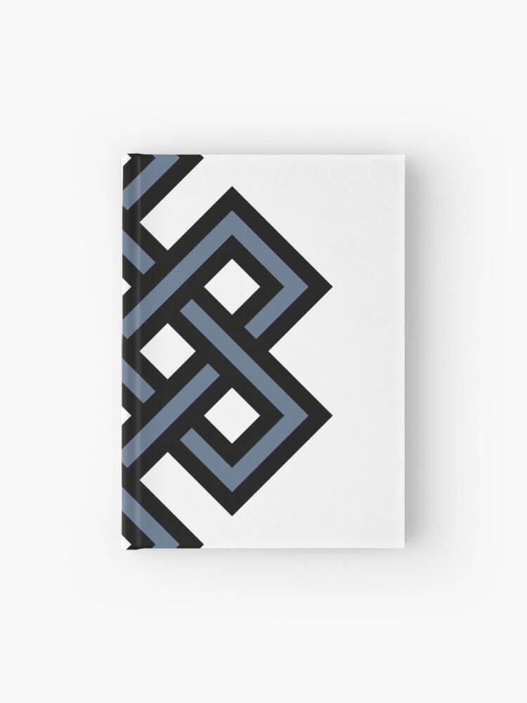 Endless Knot Buddhist Symbol Buddha Buddhism | Hardcover Journal