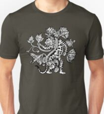 Mayan Jaguar with Lotus T-Shirt