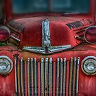 Old fire truck by Masha-Gr
