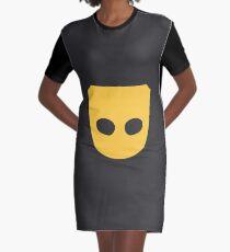 Grindr logo Graphic T-Shirt Dress