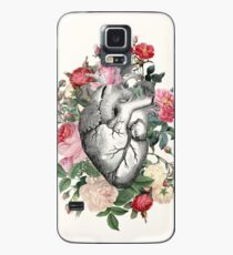 Roses for her Heart Case/Skin for Samsung Galaxy