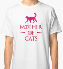 Mother of Cats - Gradient Classic T-Shirt