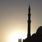 Sharjah Mosque by juellie