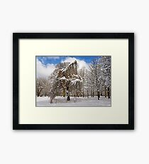 In my Winter Clothing Framed Print
