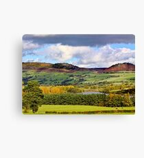 The Roaches and Hen Cloud Canvas Print