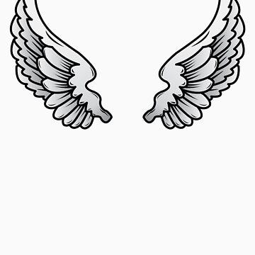 Angel wings by Iainmaynard