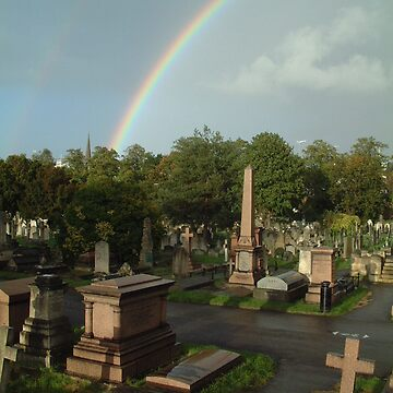 Over The Cemetery by RWTA