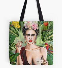 Frida con amigos Tote Bag
