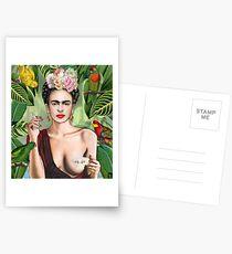 Frida con amigos Postcards