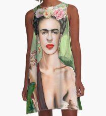 Frida con amigos A-Line Dress