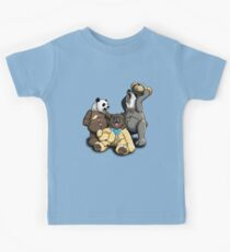 The Three Angry Bears Kids Tee