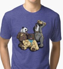 The Three Angry Bears Tri-blend T-Shirt