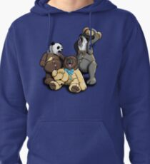 The Three Angry Bears Pullover Hoodie