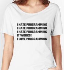 I Love Programming Women's Relaxed Fit T-Shirt