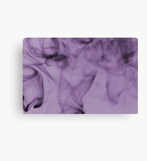 Smoldering Smoke Muted Pastel 003 Canvas Print