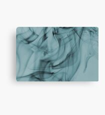 Smoldering Smoke Muted Pastel 004 Canvas Print