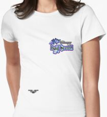 Honorary Halfbreed - an Aaron Paquette Women's Fitted T-Shirt