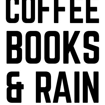 Coffee, books and rain by afiretami
