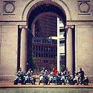 Moped Gang in Denver by omhafez