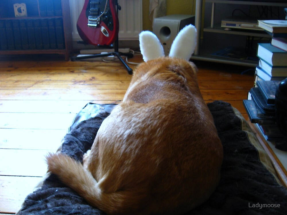 Easter Bunny by Ladymoose