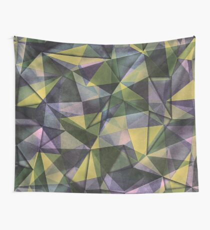 Green pastel Wall Tapestry