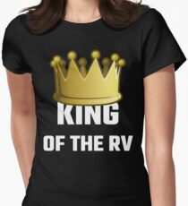 King Of The RV Womens Fitted T-Shirt