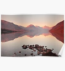 Tranquil Water in the Lakes Poster