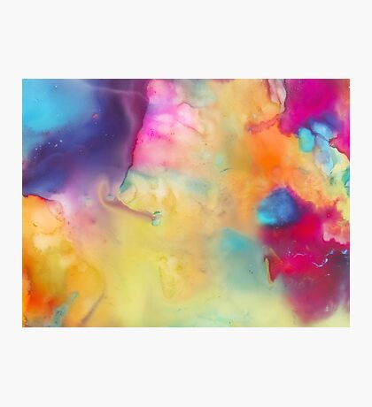 Colored Abstraction Photographic Print