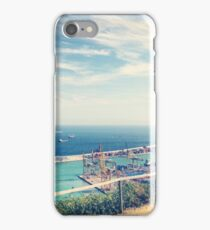 Looking Out on the Mediterranean iPhone Case/Skin