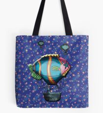 Upon a Dream We Floated Tote Bag
