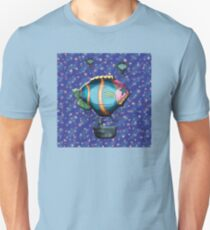 Upon a Dream We Floated Slim Fit T-Shirt