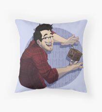 Markiplier & Tiny Box Tim Throw Pillow