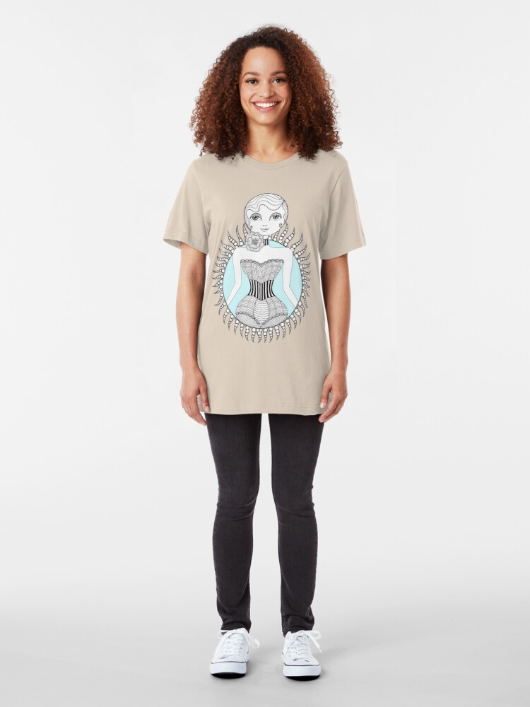 Alternate view of Hulahoop Betty Slim Fit T-Shirt