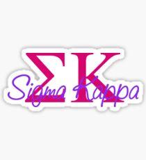 SK Sticker Sticker