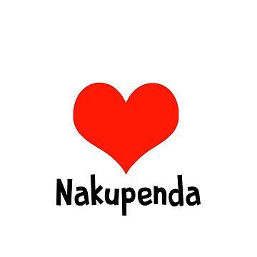 Nakupenda - I Love You in Swahili by Swahili101